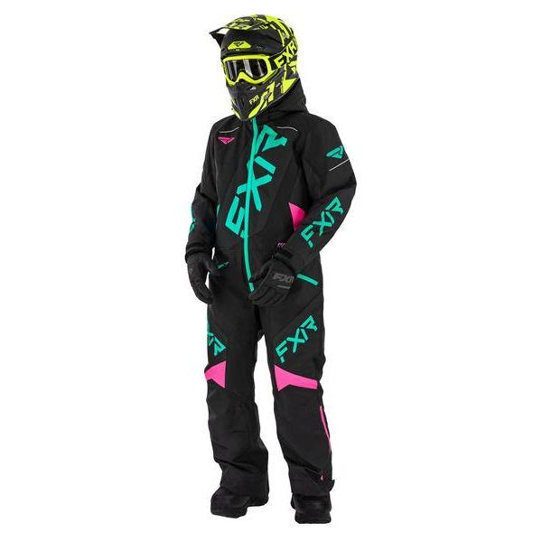 Combinezon Monosuit SNOW Copii FXR Combinezon Copii Insulated CX multicolor-roz 2021