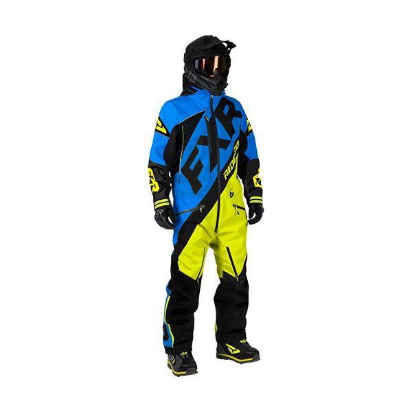 Combinezon Monosuit SNOW FXR Combinezon CX Lite Blue/Hi-Vis/Black 2020