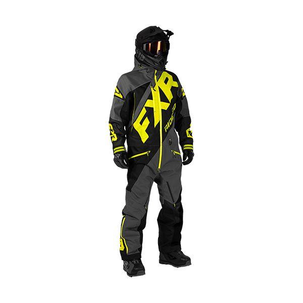 Combinezon Monosuit SNOW FXR Combinezon CX Lite Charcoal/Black/Hi-Vis 2020