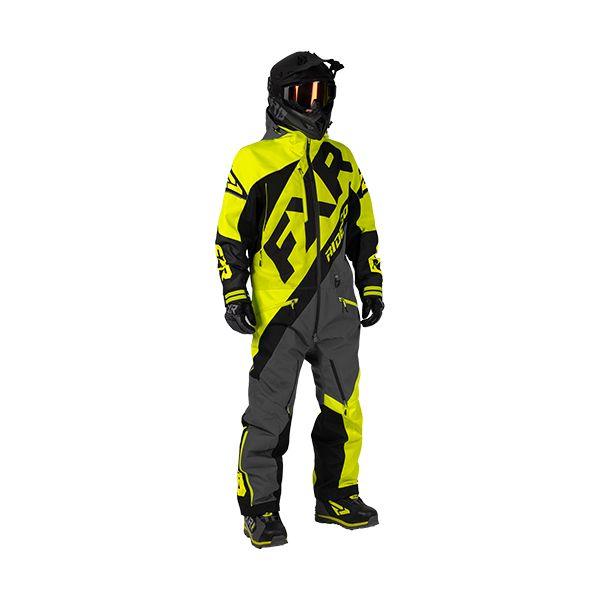 Combinezon Monosuit SNOW FXR Combinezon CX Lite Hi-Vis/Black/Charcoal 2020