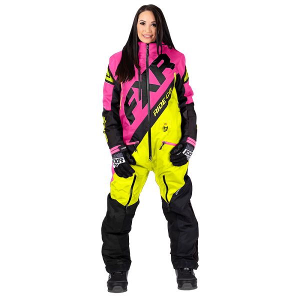 Combinezon Monosuit SNOW Dama FXR Combinezon Dama CX Hi Vis/Elec Pink/Black 2020