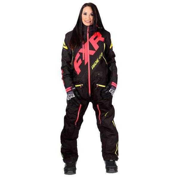 Combinezon Monosuit SNOW Dama FXR Combinezon Dama CX Lite Black/Coral/Hi Vis 2020