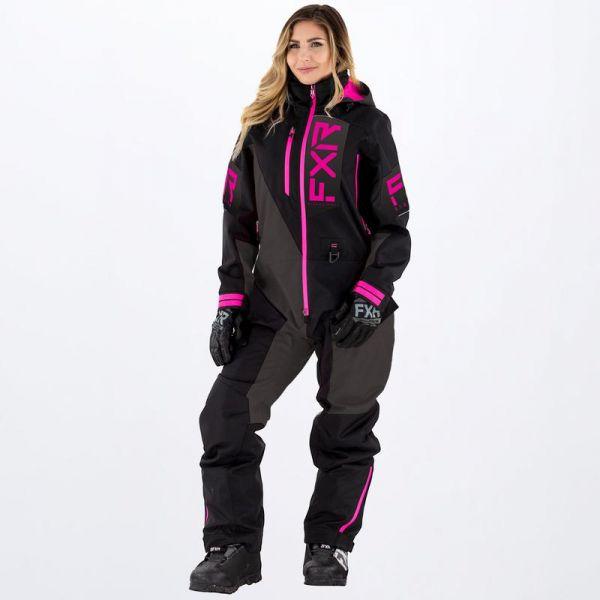 Combinezon Monosuit SNOW Dama FXR Combinezon Snow Dama Recruit Lite Black/Charcoal/Fuchsia 2022