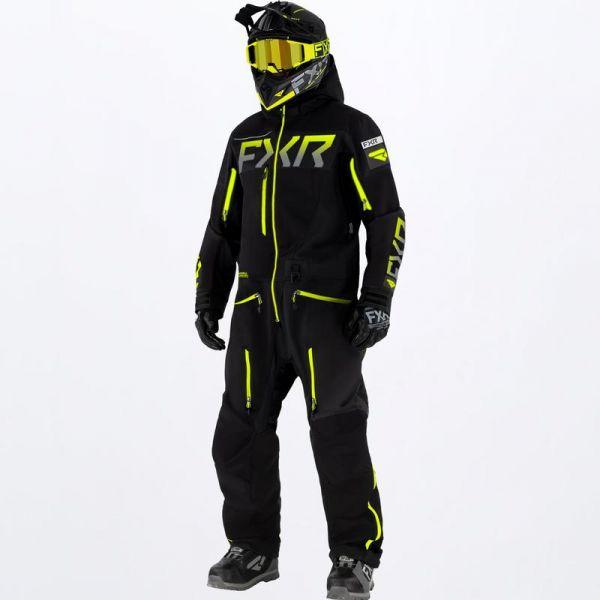Combinezon Monosuit SNOW FXR Combinezon Snow Ranger Instinct Lite Black/Hi Vis 2022