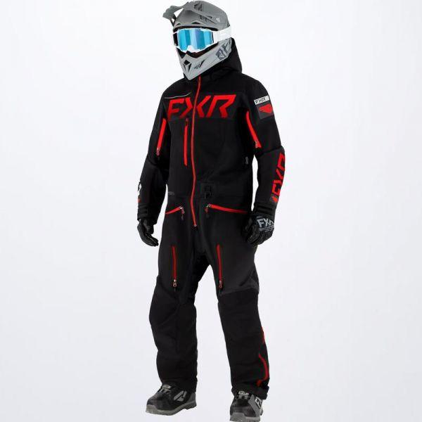 Combinezon Monosuit SNOW FXR Combinezon Snow Ranger Instinct Lite Black/Red 2022