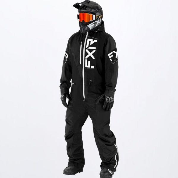 Combinezon Monosuit SNOW FXR Combinezon Snow Recruit Insulated Black/White 2022