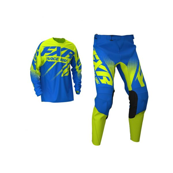 Combo MX Enduro FXR Combo MX Clutch Blue/Hi Vis 2020
