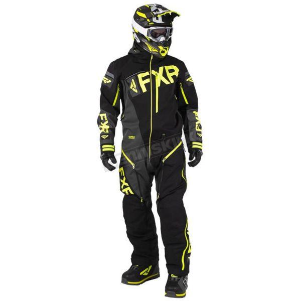 FXR Monosuit Ranger Instinct Lite 2020 Black/Char/Hi Vis 2020