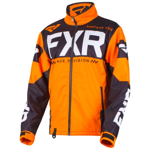 Geci Enduro FXR Geaca Cold Cross Race Ready Orange/Black 2019