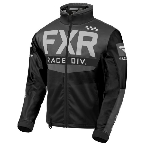 Geci Enduro FXR Geaca Cold Cross RR Black/Charcoal/Grey 2020