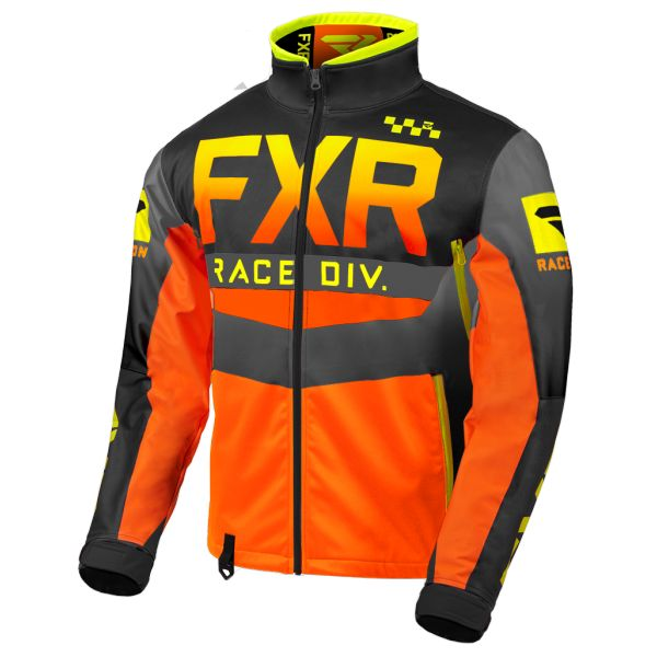 Geci Enduro FXR Geaca Cold Cross RR Hi Vis/Black/Orange/Grey 2020