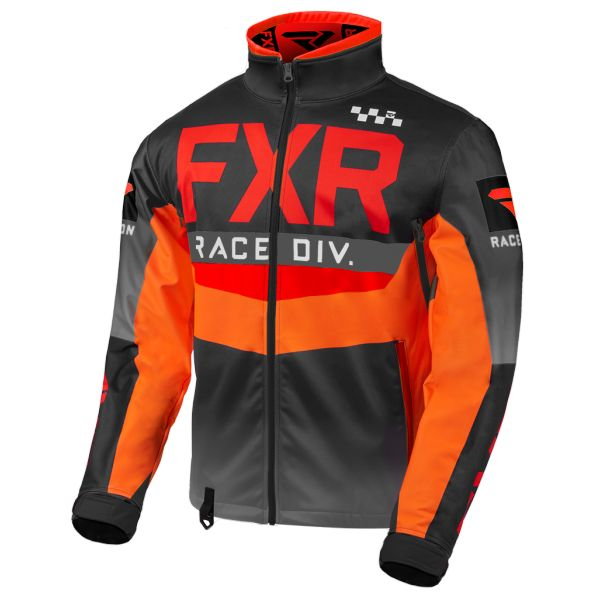 FXR Geaca Cold Cross RR Red/Black/Orange/Charcoal 2020