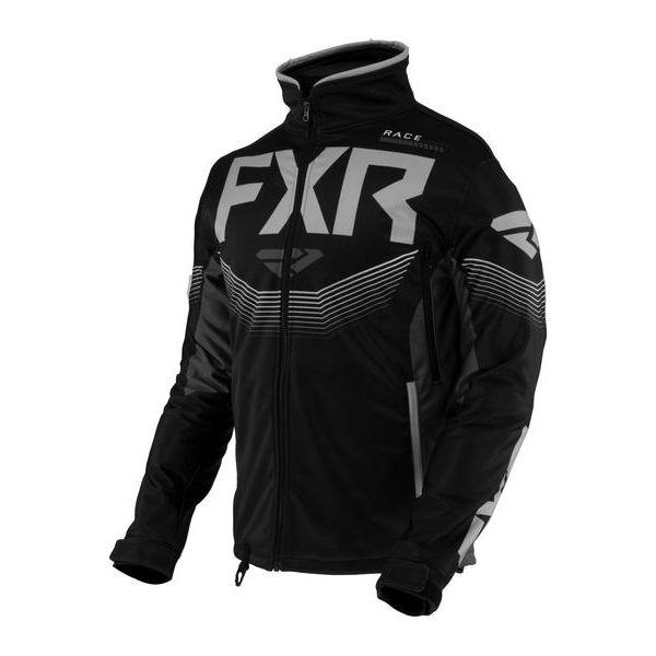 Geci Enduro FXR Geaca MX Cold Cross RR Black/Char/Grey 2021