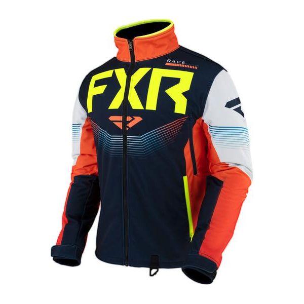 Geci Enduro FXR Geaca MX Cold Cross RR Navy/Nuke/Hi Vis 2021