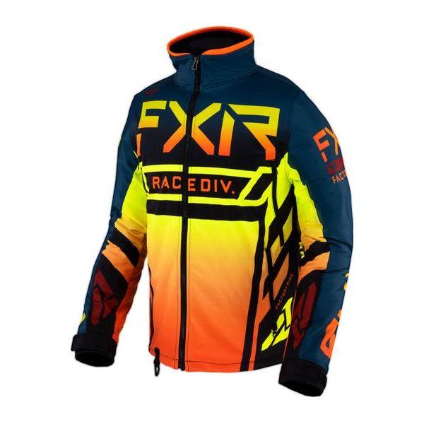 Geci Enduro FXR Geaca MX Cold Cross RR Slate/Inferno/Black 2021