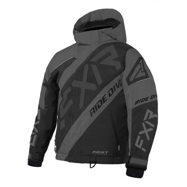 Geci Snowmobil - Copii FXR Geaca Snow Copii Insulated CX Black Ops 2021