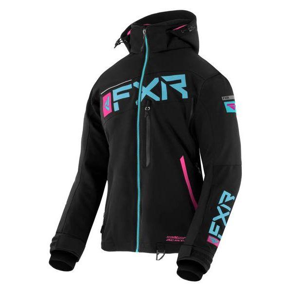 Geci Snowmobil - Dama FXR Geaca Snow Dama Insulated Ranger Black/Sky Blue/Elec Pink 2021