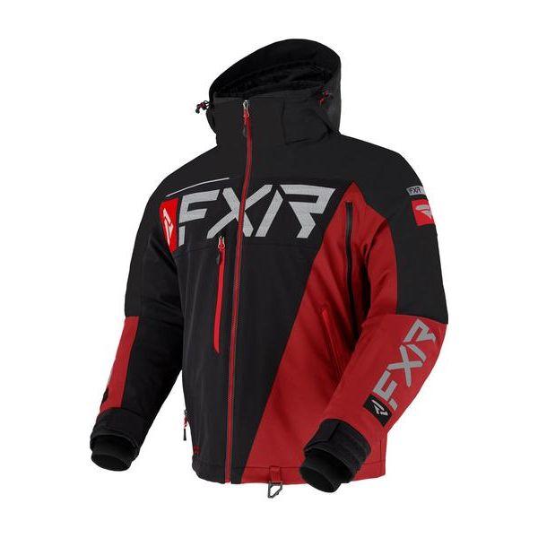 Geci Snowmobil FXR Geaca Snow Insulated Ranger Black/Red 2021