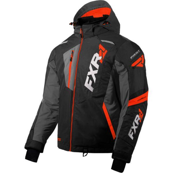 Geci Snowmobil FXR Geaca Snow Mission FX Black/Char/Red 2020