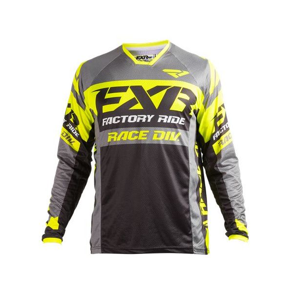 Tricouri MX-Enduro FXR LICHIDARE STOC Tricou Revo Gray/Yellow