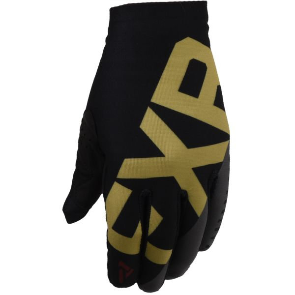 Manusi MX-Enduro FXR Manusi MX Slip-On Lite Black/Gold/Rust 2020