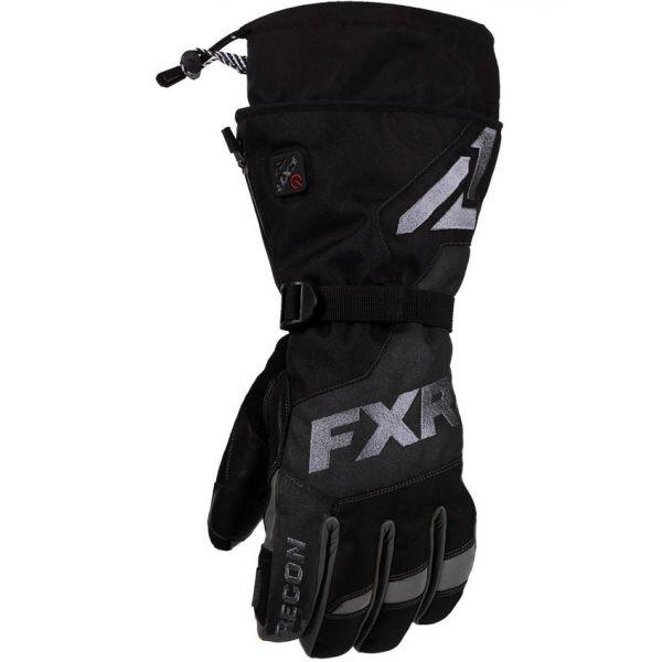 Manusi Snowmobil FXR Manusi Snow Insulated Recon Black 2021