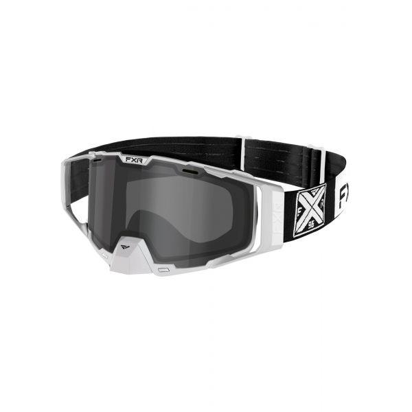 Ochelari Snowmobil FXR Ochelari Snow Combat Black/White 2021