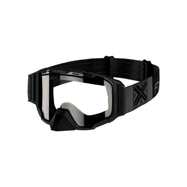Ochelari Snowmobil FXR Ochelari Snow Maverick Clear Black Ops 2021