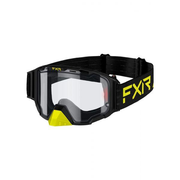 Ochelari Snowmobil FXR Ochelari Snow Maverick E- Hi Vis/Black 2021