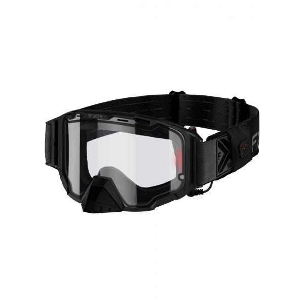 Ochelari Snowmobil FXR Ochelari Snow Maverick E-w/ Battery Pack Black Ops 2021