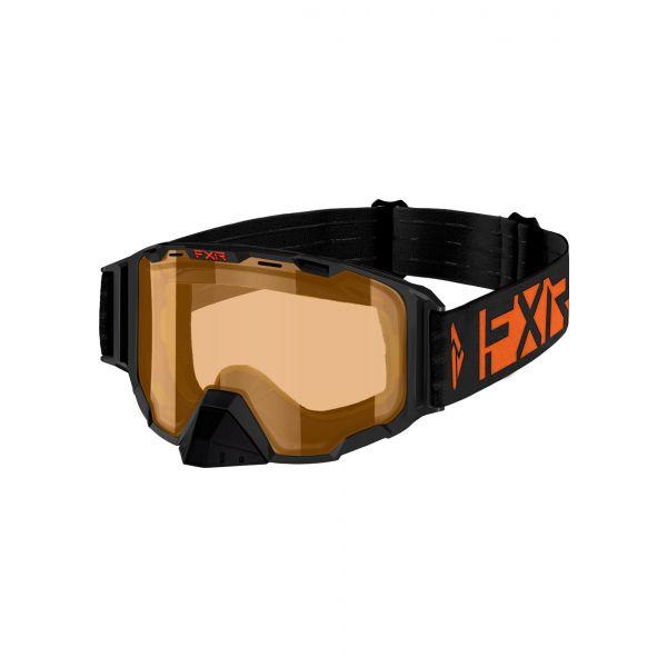 Ochelari Snowmobil FXR Ochelari Snow Maverick Orange 2021