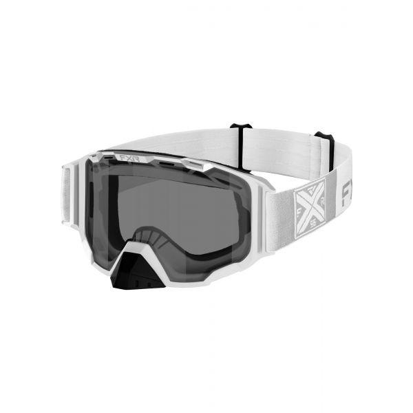 Ochelari Snowmobil FXR Ochelari Snow Maverick White 2021