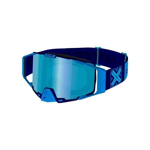 Ochelari Snowmobil FXR Ochelari Snow Pilot Blue 2021