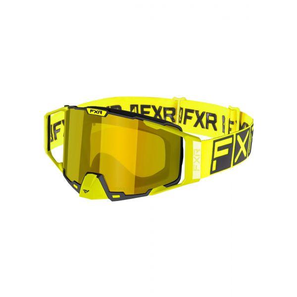 Ochelari Snowmobil FXR Ochelari Snow Pilot Hi Vis 2021