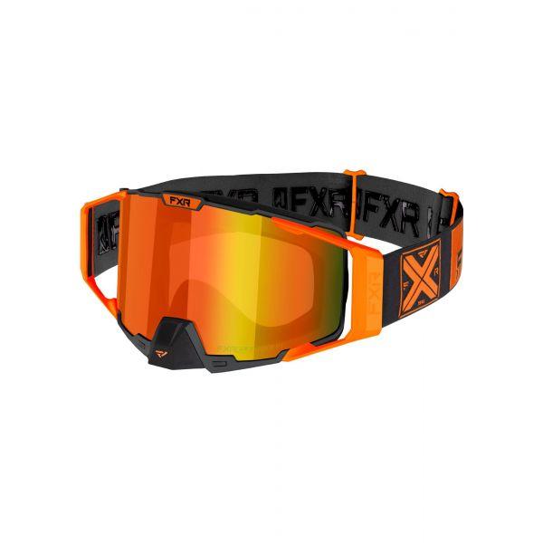 Ochelari Snowmobil FXR Ochelari Snow Pilot Orange 2021