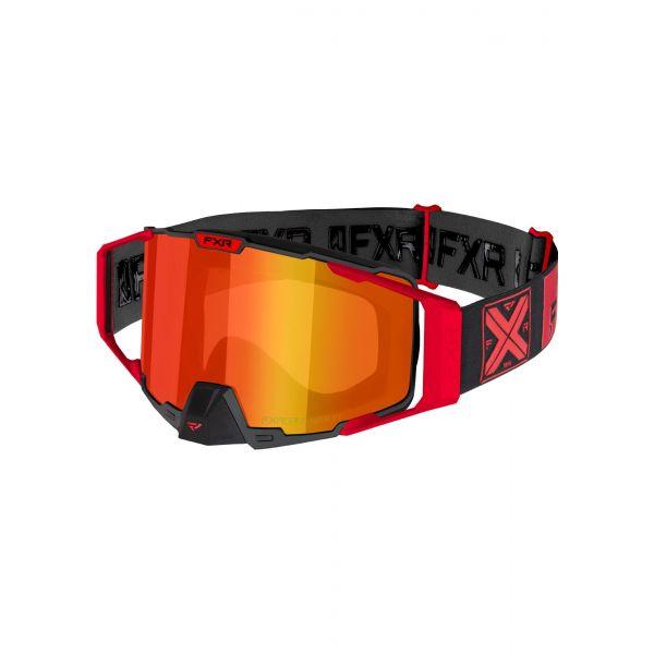 Ochelari Snowmobil FXR Ochelari Snow Pilot Red 2021