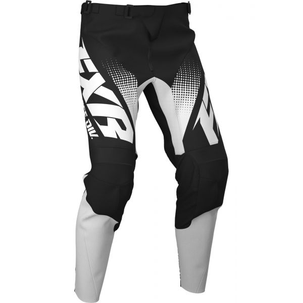 Pantaloni MX-Enduro FXR Pantaloni Clutch MX Black/White 2020