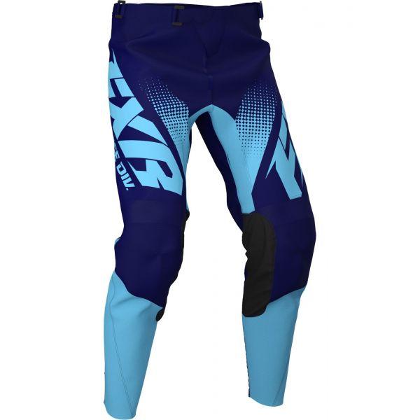 FXR Pantaloni Clutch MX Sky Blue/Midnight Fade 2020
