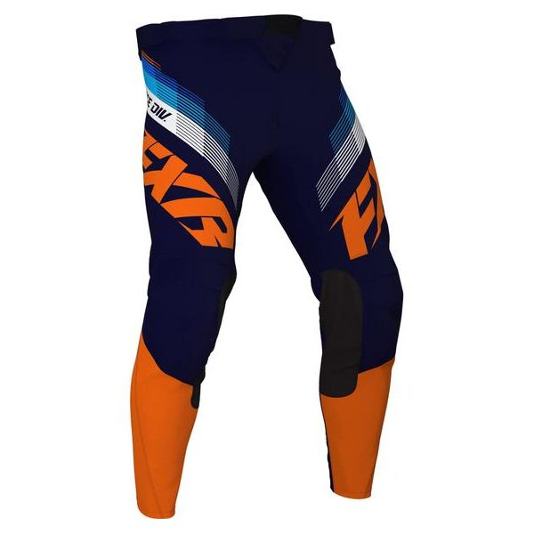 Pantaloni MX-Enduro Copii FXR Pantaloni MX Copii Clutch Orange/Midnight 2021