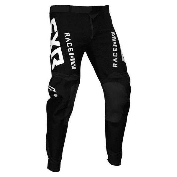 Pantaloni MX-Enduro FXR Pantaloni MX Podium Black/White 2021