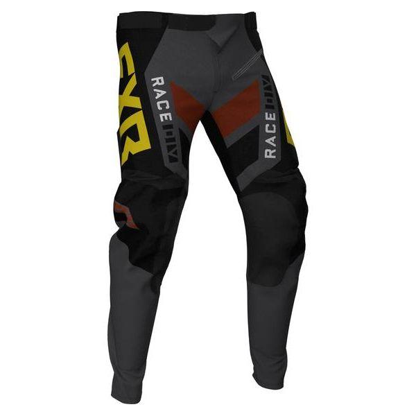 Pantaloni MX-Enduro FXR Pantaloni MX Podium Off-Road Black/Char/Rust/Gold 2021