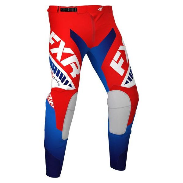 Pantaloni MX-Enduro FXR Pantaloni MX Revo Red/White/Blue 2021