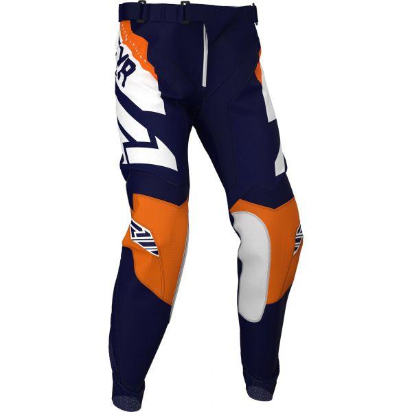 Pantaloni MX-Enduro FXR Pantaloni Podium MX Midnight/White/Orange 2020