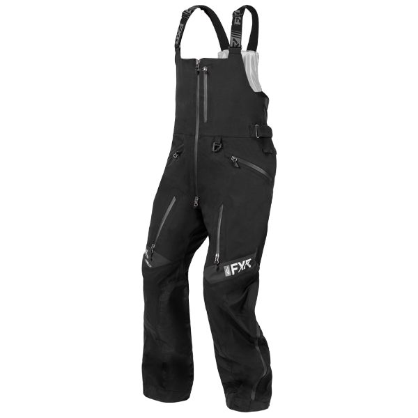 Pantaloni Snow FXR Pantaloni Snow Helium Pro X  Bib Black 2020