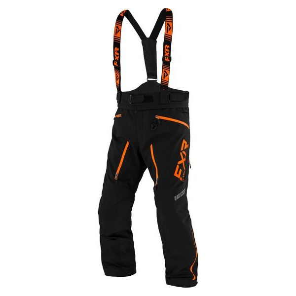 Pantaloni Snow FXR Pantaloni Snow Insulated Mission X Black/Orange 2021