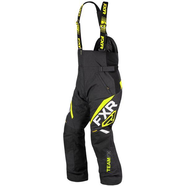 Pantaloni Snow FXR Pantaloni Snow Team FX Black/Hi Vis 2020