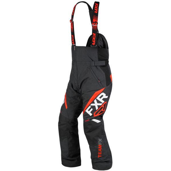 Pantaloni Snow FXR Pantaloni Snow Team FX Black/Red 2020