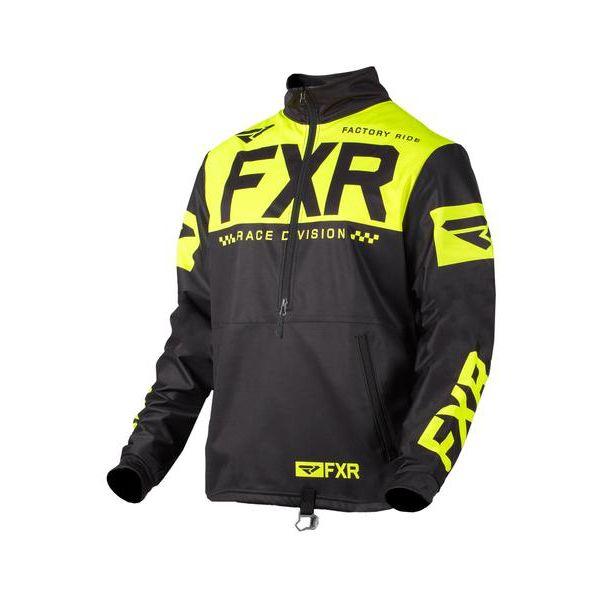 Geci Enduro FXR Pulover Cold Cross RR Black/Hi Vis 2021