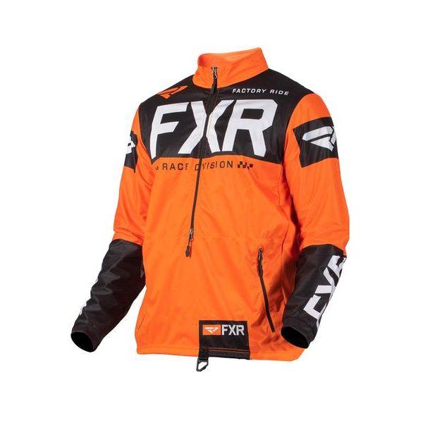 Geci Enduro FXR Pulover Cold Cross RR Orange/Black/White 2021