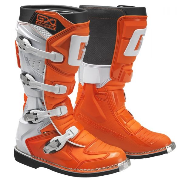Cizme MX-Enduro Gaerne Cizme GX1 Goodyear Orange/White 2019